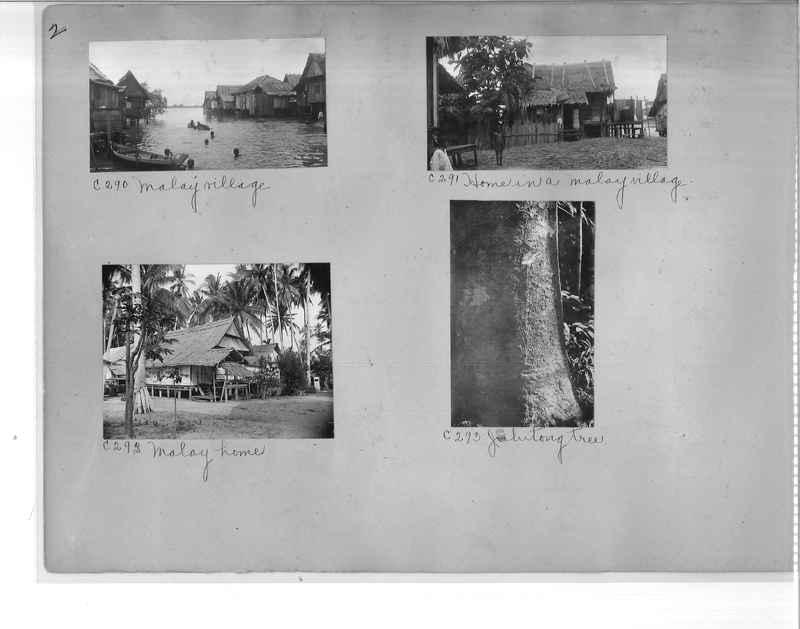 Mission Photograph Album - Malaysia #7 page 0002