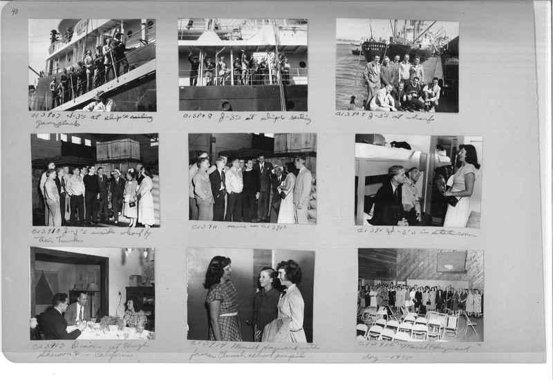 Mission Photograph Album - Portraits #13 Page 0040