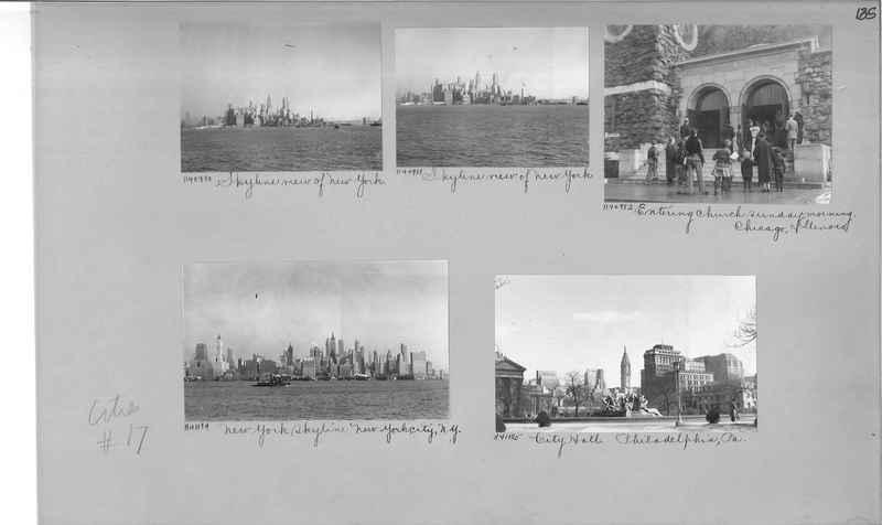 Mission Photograph Album - Cities #17 page 0135