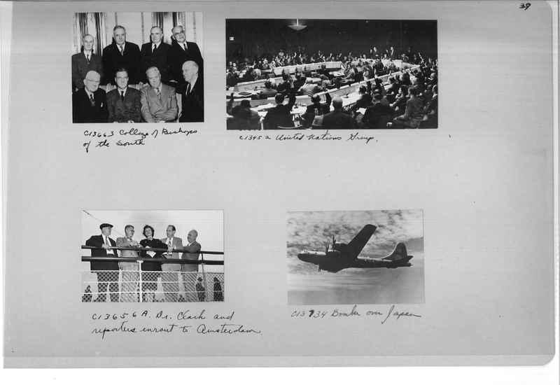 Mission Photograph Album - Portraits #13 Page 0039