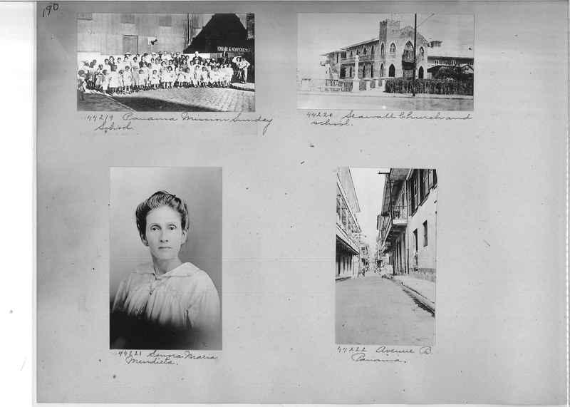 Mission Photograph Album - Panama #02 page 0190