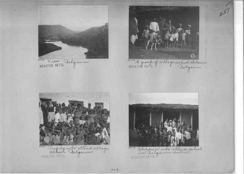 Mission Photograph Album - India #09 Page 0251