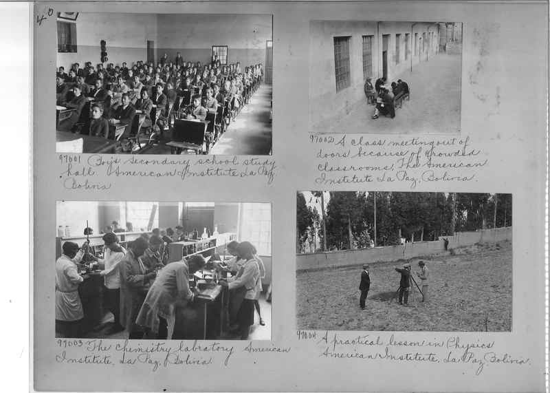 Misson Photograph Album - South America #8 page 0040