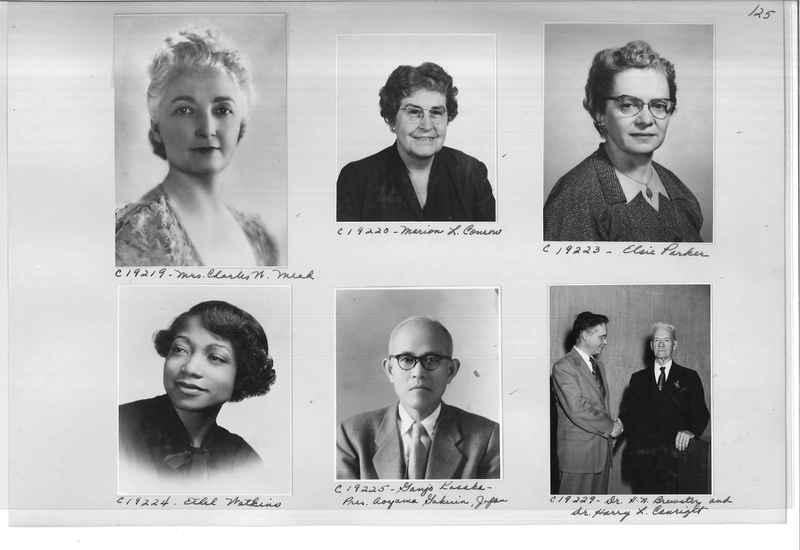 Mission Photograph Album - Portraits #08 Page 0125
