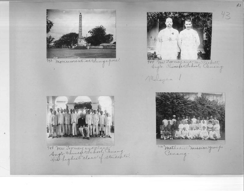 Mission Photograph Album - Malaysia #1 page 0043
