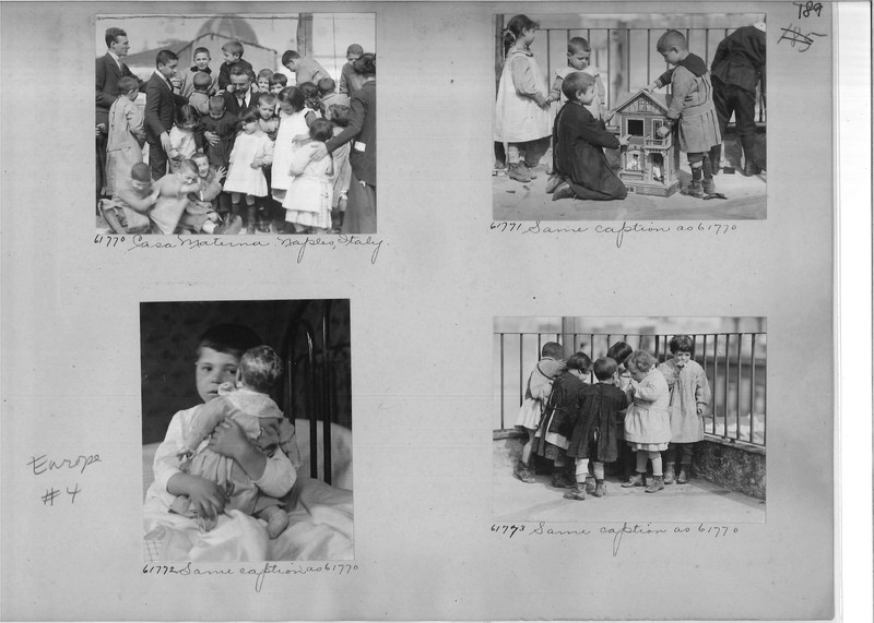 Mission Photograph Album - Europe #04 Page 0189