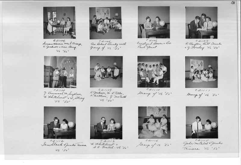 Mission Photograph Album - Portraits #10 Page 0013