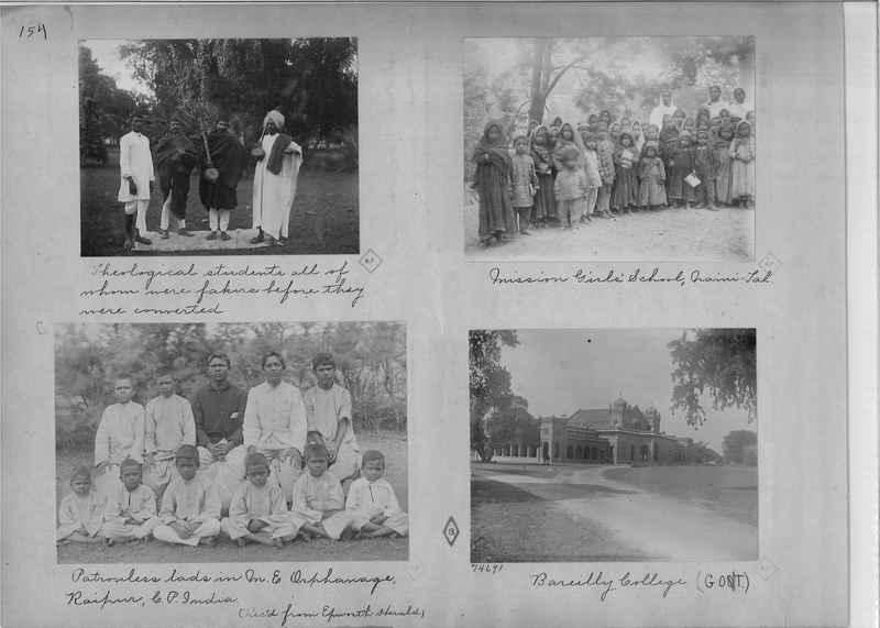 Mission Photograph Album - India - O.P. #01 Page 0154