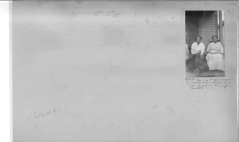 Mission Photograph Album - Negro #1 page 0063