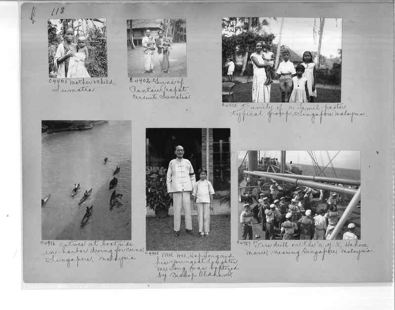 Mission Photograph Album - Malaysia #7 page 0118