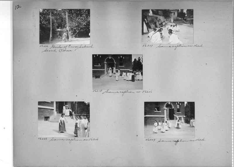 Mission Photograph Album - Korea #5 page 0012