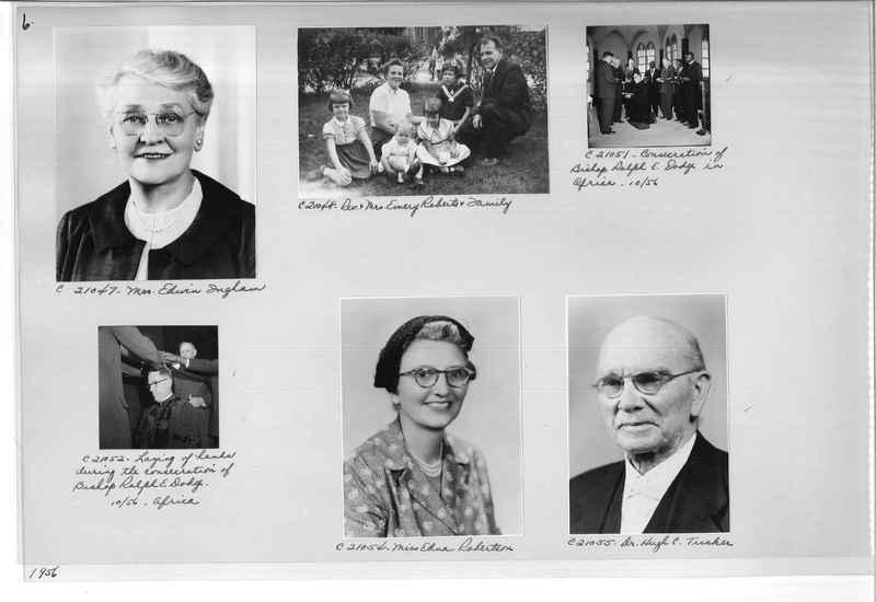 Mission Photograph Album - Portraits #10 Page 0006