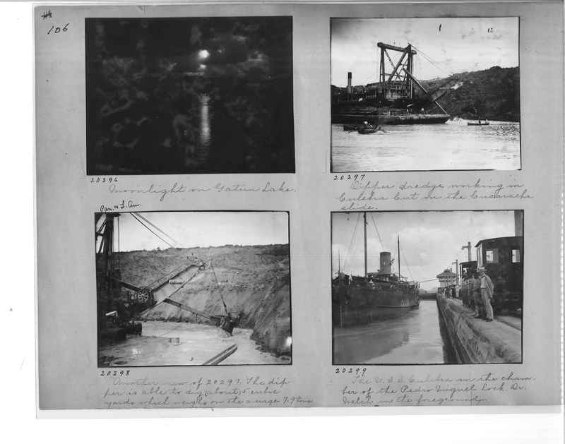 Mission Photograph Album - Panama #1 page  0106