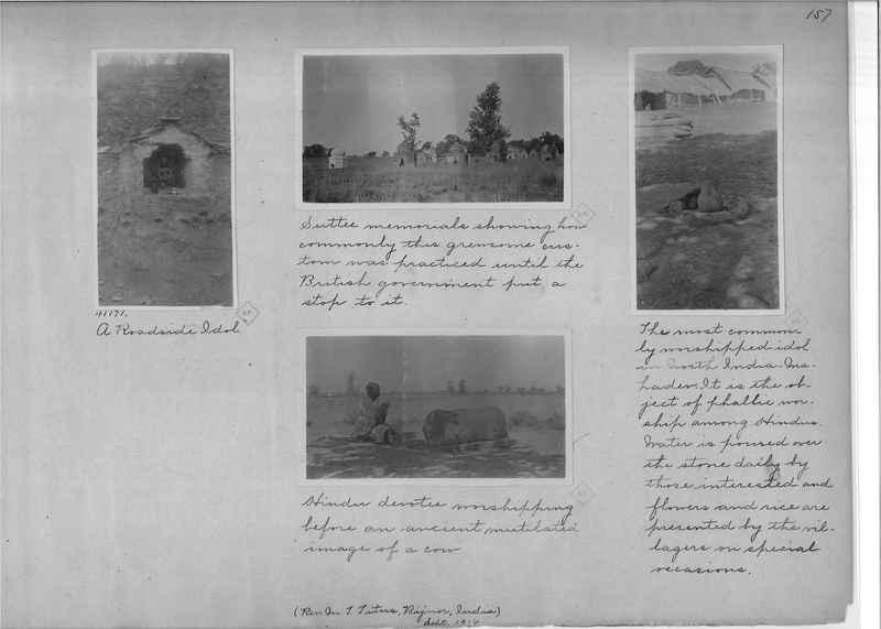 Mission Photograph Album - India - O.P. #01 Page 0157