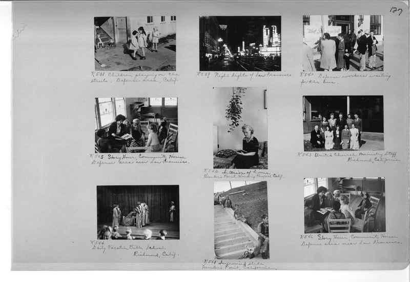 Mission Photograph Album - Cities #18 page 0127