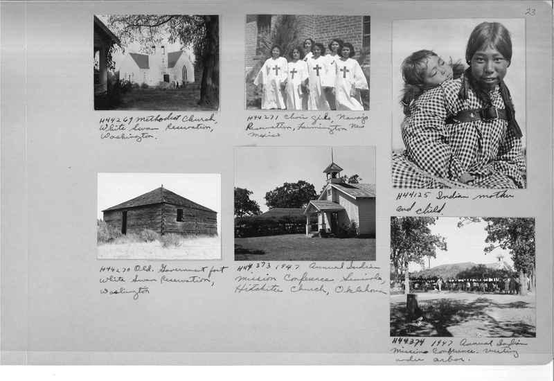 Mission Photograph Albums - Indians #3 Page_0023