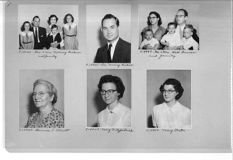 Mission Photograph Album - Portraits #08 Page 0102