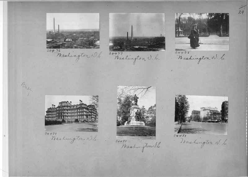 Mission Photograph Album - America #1 page 0029