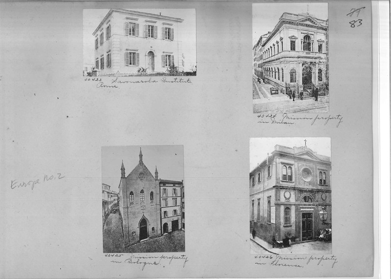 Mission Photograph Album - Europe #02 Page 0083