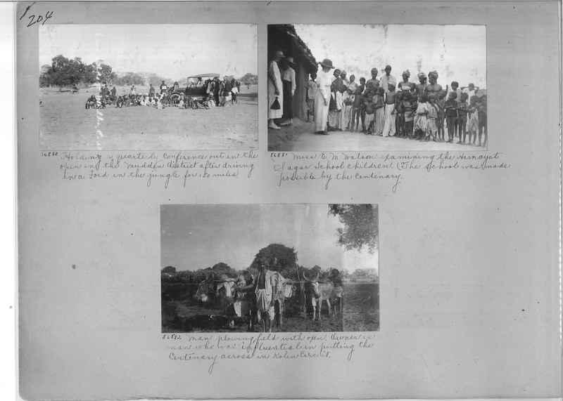 Mission Photograph Album - India #09 Page 0204