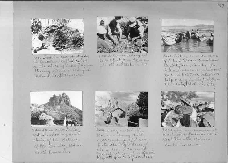 Misson Photograph Album - South America #8 page 0197