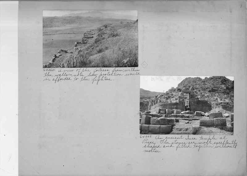 Mission Photograph Album - South America O.P. #3 page 0009
