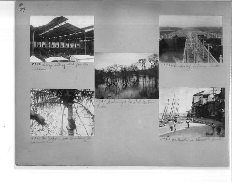 Mission Photograph Album - Panama #1 page  0024