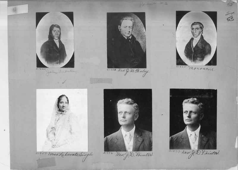Mission Photograph Album - Portraits #2 page 0053