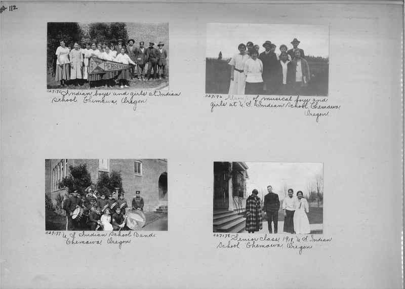 Mission Photograph Album - Indians #2 page_0112