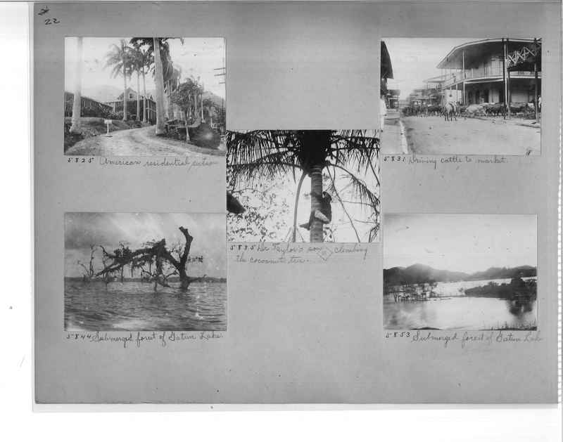 Mission Photograph Album - Panama #1 page  0022