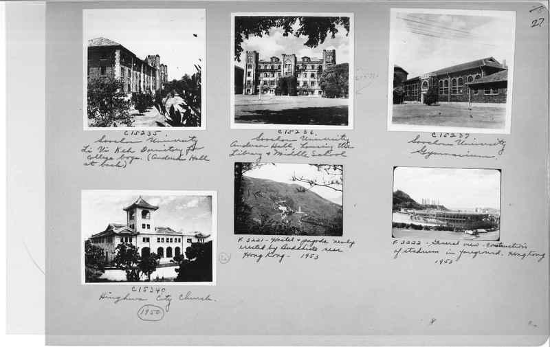 Mission Photograph Album - China #20 page 0027
