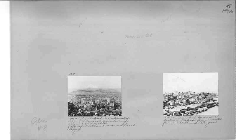 Mission Photograph Album - Cities #8 page 0187