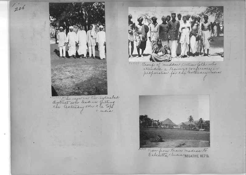 Mission Photograph Album - India #09 Page 0206