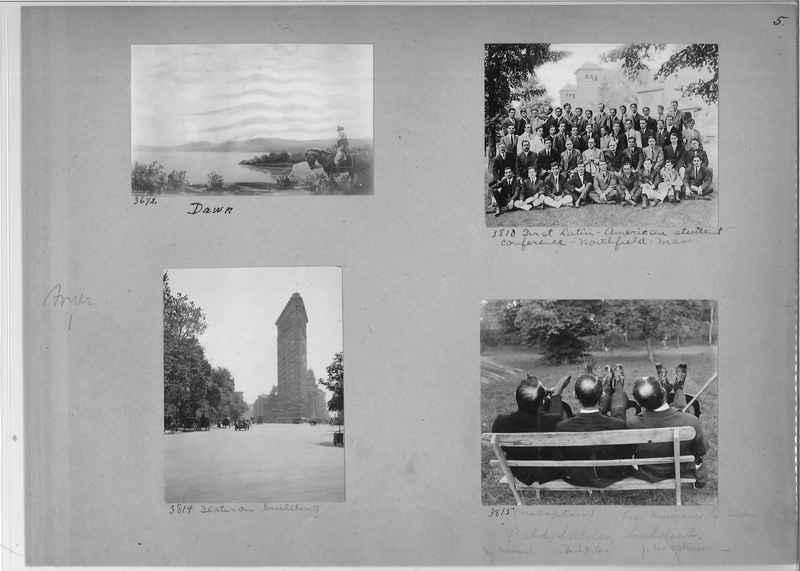 Mission Photograph Album - America #1 page 0005