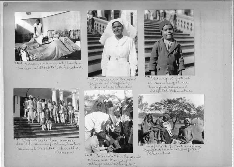 Mission Photograph Album - India #13 Page 0108