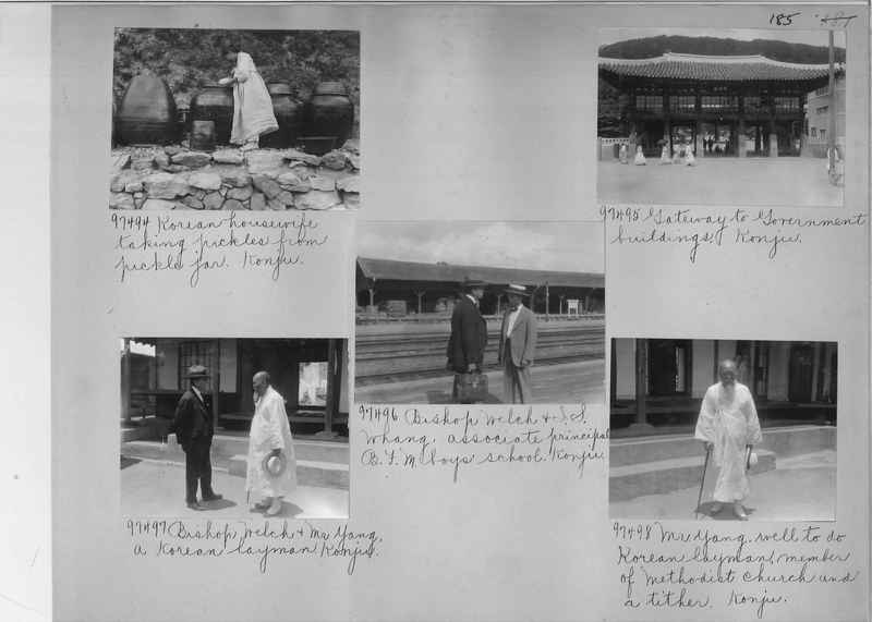 Mission Photograph Album - Korea #5 page 0185