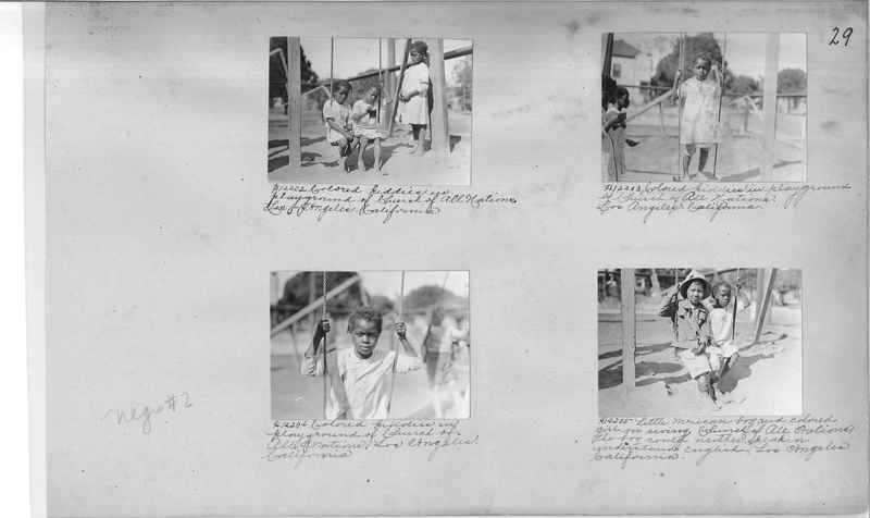 Mission Photograph Album - Negro #2 page 0029