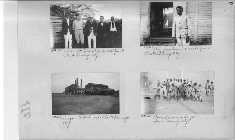 Mission Photograph Album - Puerto Rico #3 page 0193