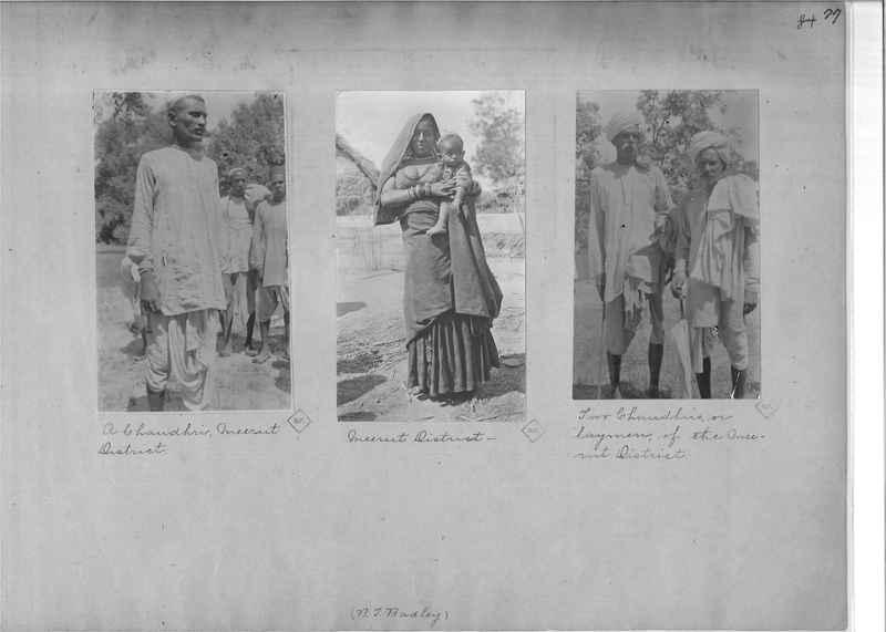 Mission Photograph Album - India - O.P. #01 Page 0077