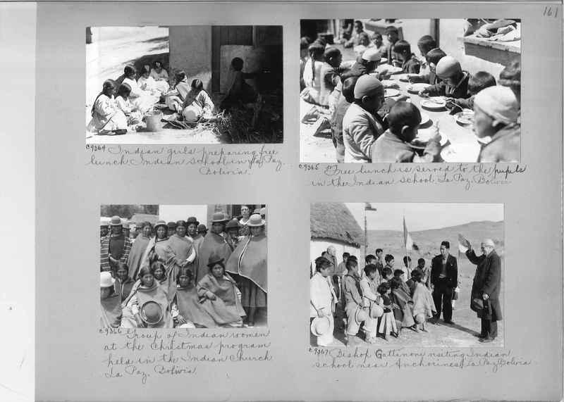 Misson Photograph Album - South America #8 page 0161