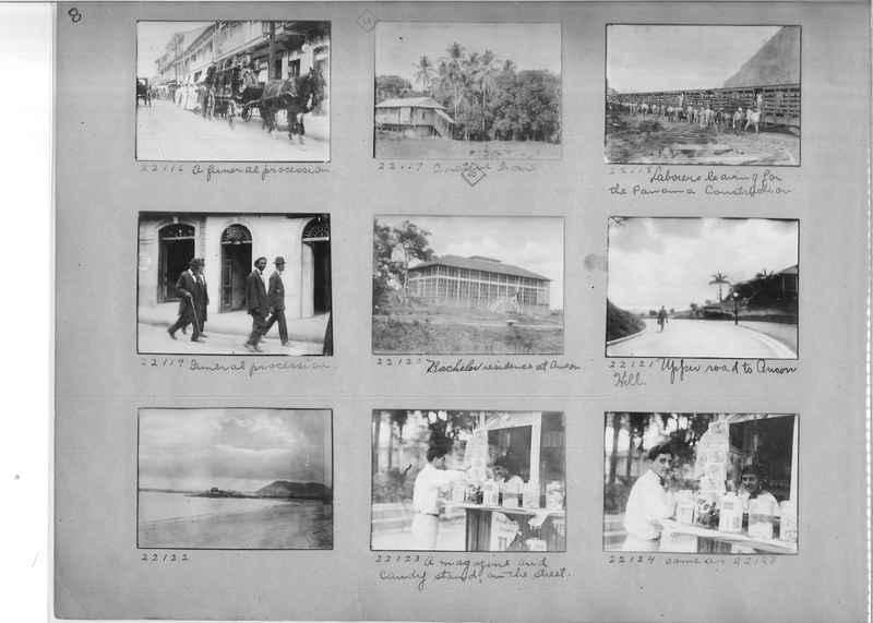 Mission Photograph Album - Panama #02 page 0008