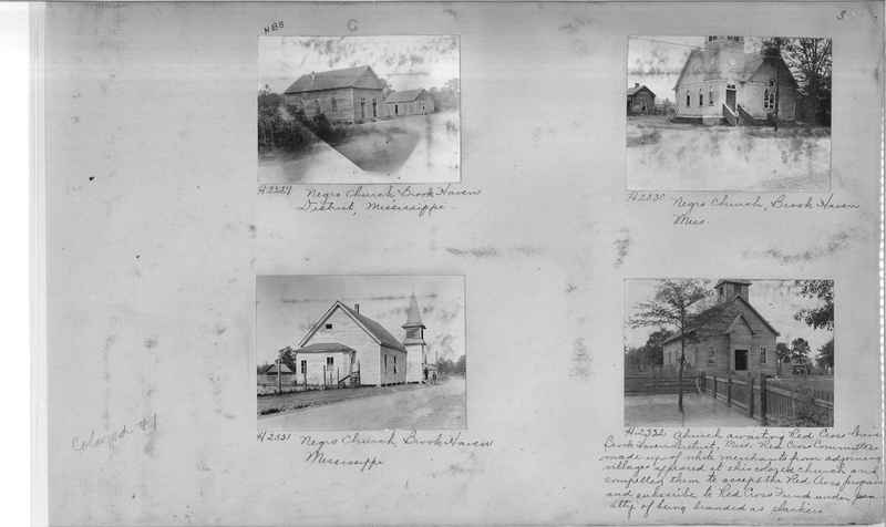 Mission Photograph Album - Negro #1 page 0003