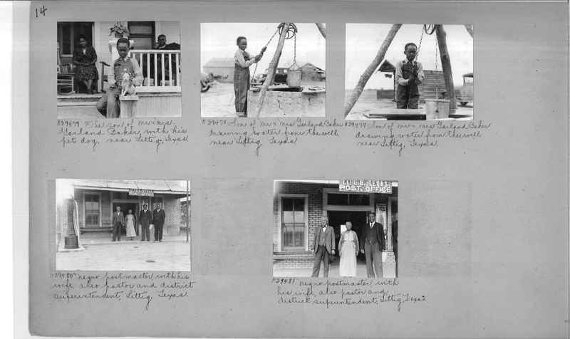 Mission Photograph Album - Negro #6 page 0014