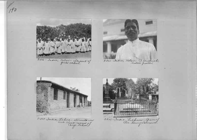 Mission Photograph Album - India #09 Page 0190