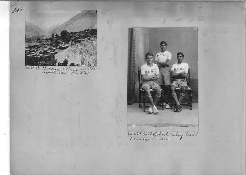 Mission Photograph Album - India #09 Page 0202