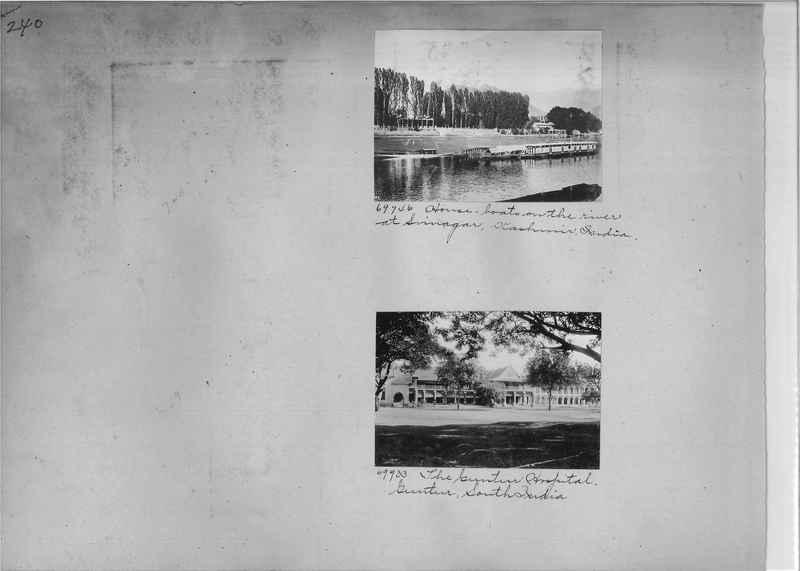 Mission Photograph Album - India #08 Page 0240