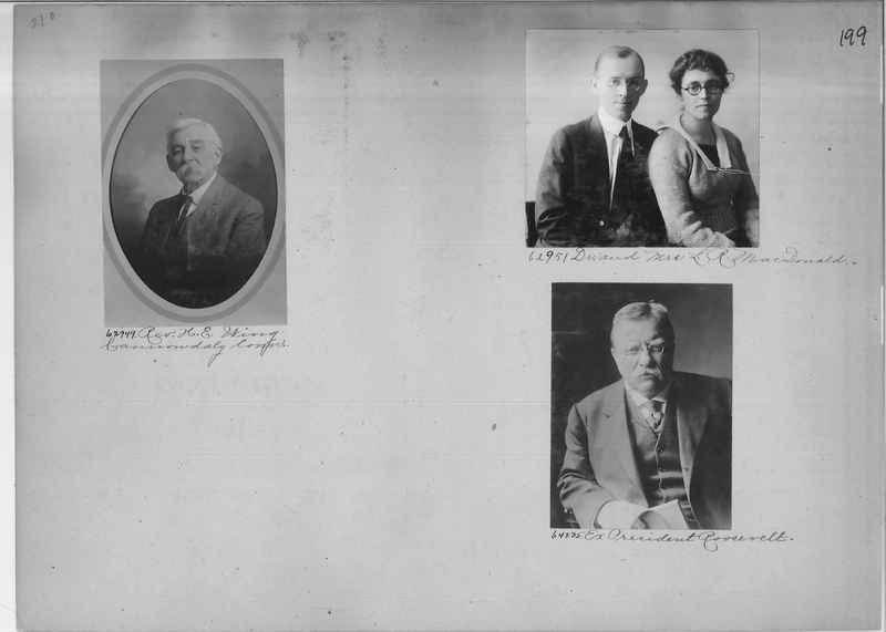 Mission Photograph Album - Portraits #2 page 0199