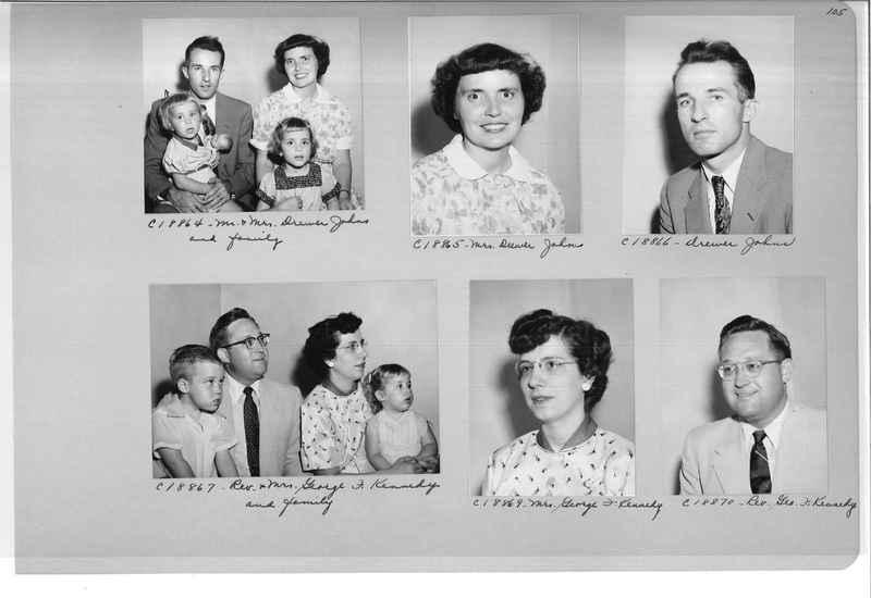 Mission Photograph Album - Portraits #08 Page 0105