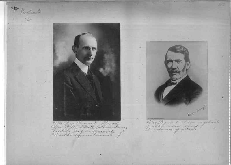 Mission Photograph Album - Portraits #2 page 0142