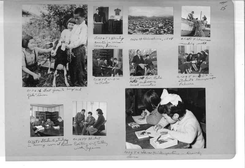 Mission Photograph Album - Japan #07 Page 0015